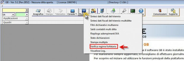 Software Regime Forfettario - Software Contabilità GB - 1