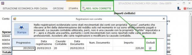 16 Registrazioni non corrette_escludi
