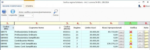 Software Regime Forfettario - Software Contabilità GB - 2