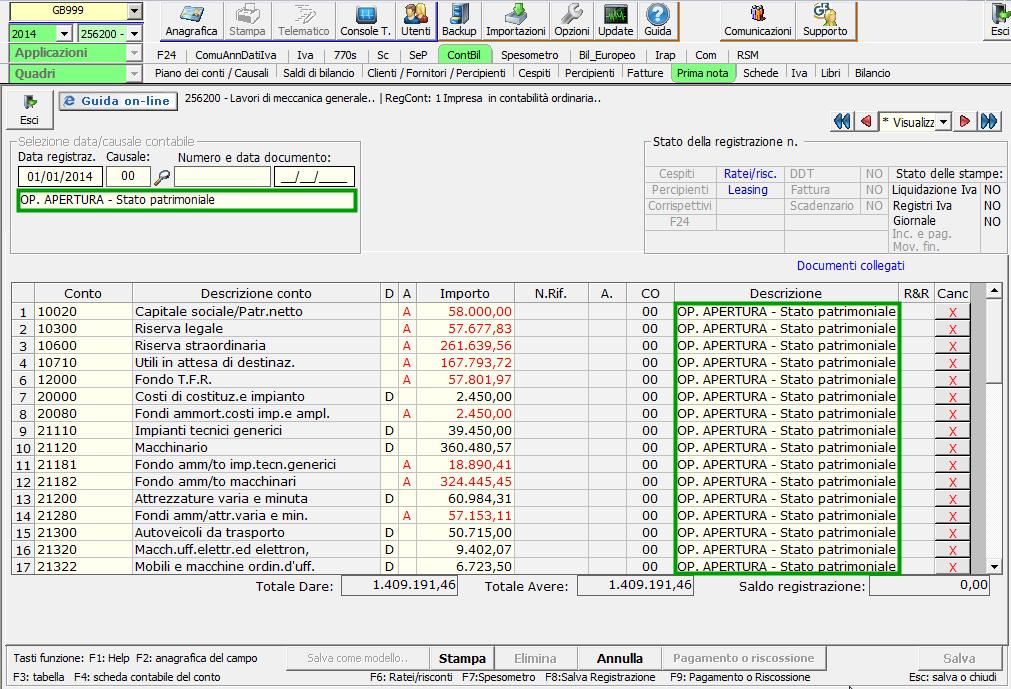 f654fda531 Chiusura e Riapertura dei conti in Contabilità GB - Software ...