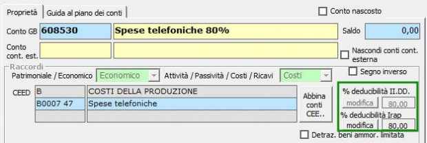 6 Spese telefoniche