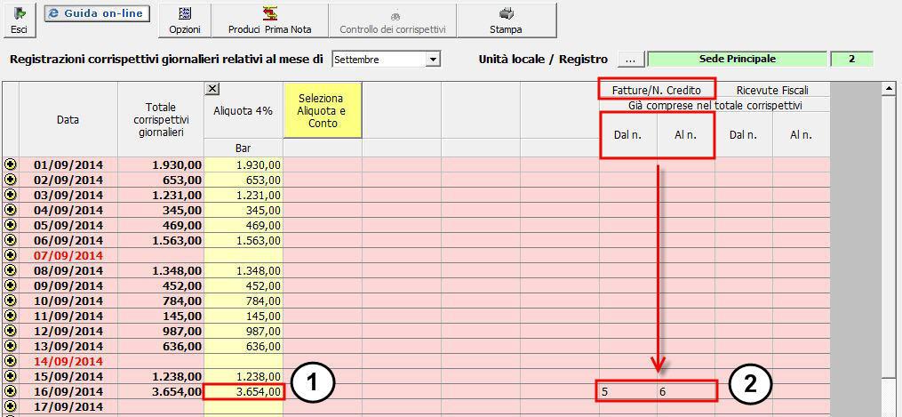 Emissione di fatture per i contribuenti software for Calcola imposta di registro