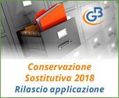 Conservazione Sostitutiva 2018: rilascio applicazione