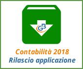 Contabilità 2018: rilascio applicazione