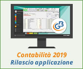 Contabilità 2019: rilascio applicazione