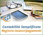 Contabilità Semplificata: Registro incassi/pagamenti