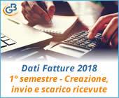 Dati Fatture 2018 (Nuovo Spesometro): 1° semestre - Creazione, invio e scarico ricevute