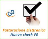 Fatturazione Elettronica: nuovo check FE