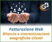 Fatturazione Web: rilascio e sincronizzazione anagrafiche clienti