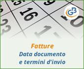 Fatture: data documento e termini d'invio