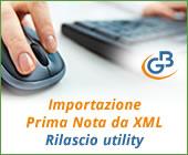 Importazione Prima Nota da file XML: rilascio utility