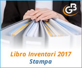 Libro Inventari 2017: stampa