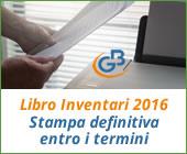 Libro Inventari 2016: stampa definitiva entro i termini