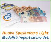 Nuovo Spesometro light 2017: modalità importazione dati