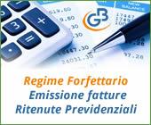 Regime Forfettario: Emissione fatture Ritenute Previdenziali