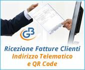 Ricezione delle Fatture Elettroniche per conto dei Clienti: Registrazione Indirizzo Telematico e QR Code