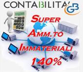 Super Ammortamento 140% anche per i beni immateriali