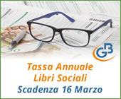 Tassa Annuale Libri Sociali 2018: scadenza 16 marzo