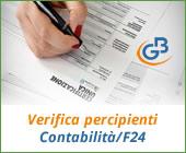Verifica Percipienti e Contabilità F24