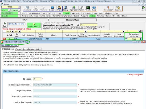 Software Fatturazione Elettronica - Software Contabilità GB