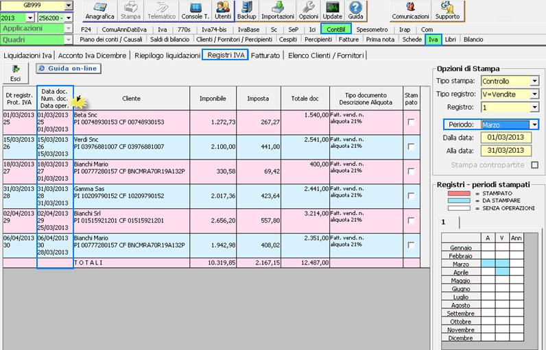 Fatturazione differita da oggi puoi gestirla in prima nota for Calcola imposta di registro