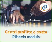 Centri di Profitto e di Costo 2021: rilascio modulo