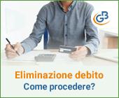 Come procedere all'eliminazione contabile di un debito?