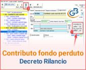 Contabilizzazione contributo a fondo perduto Art. 25 Decreto Rilancio