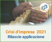 Crisi d'impresa 2021: rilascio applicazione