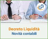 Decreto Liquidità: il punto sulle novità contabili