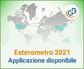 Esterometro 2021: applicazione disponibile