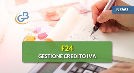 News - F24: gestione del credito IVA 2018