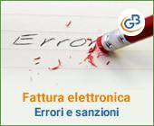 Fattura elettronica: come riconoscere gli errori ed evitare le sanzioni