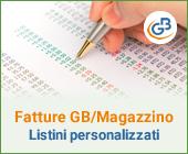 Fatture GB/Magazzino: utilizzo ed abbinamento dei listini personalizzati