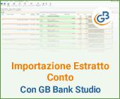 GB Bank Studio: importazione Estratto Conto