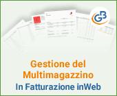 Gestione del Multimagazzino in Fatturazione inWeb