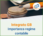 Integrato GB: l'importanza del regime contabile