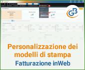 Personalizzazione dei modelli di stampa: Fatturazione inWeb