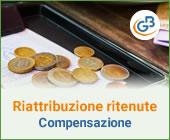 Riattribuzione ritenute: come effettuare contabilmente la compensazione?